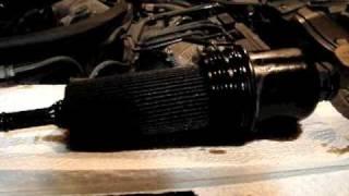 Mityvac: Oil change on a Mercedes C230 Kompressor