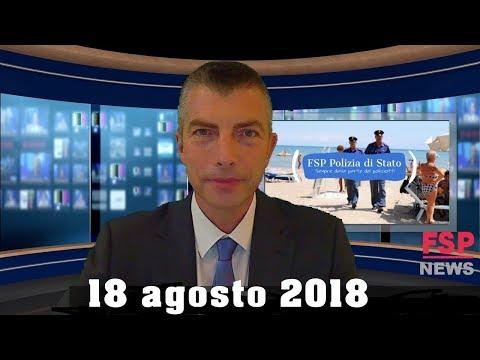 FSP NEWS 18 agosto 2018 - Genova: Polizia a fianco della gente