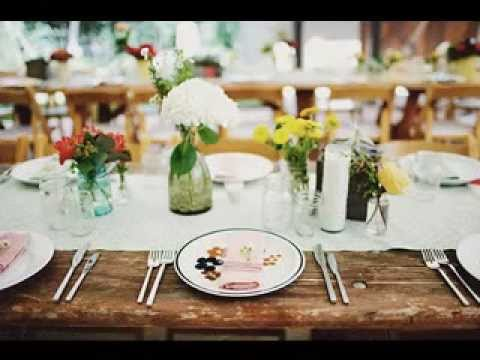 Easy Diy rustic wedding decorations