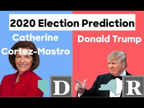 2020 Election Prediction | Catherine Cortez Masto vs Donald Trump
