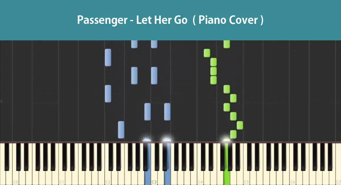 Passenger Let Her Go Piano Tutorials Chords Notations Cover