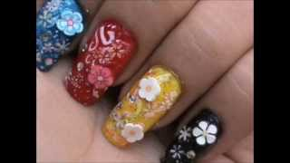Floral Designs: Easy Fimo Canes Nail Art Tutorial Mp3