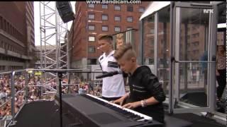 Marcus & Martinus-Plystre pa deg (VG-lista 2015) (With SUBTITLES)