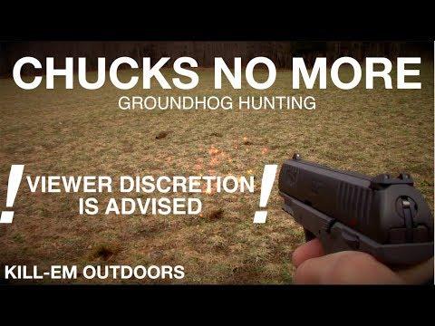 Chucks No More Groundhog Hunting