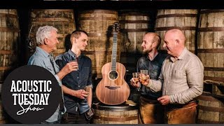 Guitars Made From Whisky Barrels, Harmonics, & Tony Furtado