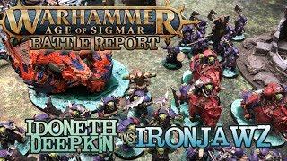 Warhammer: Age of Sigmar 2E Battle Report - Idoneth Deepkin vs. Ironjawz