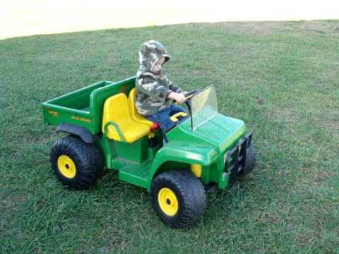 peg perego john deere gator for caleb youtube. Black Bedroom Furniture Sets. Home Design Ideas