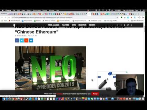 Touching Crypto Base with Techbait and Cryptocurrency News some Neo News Too