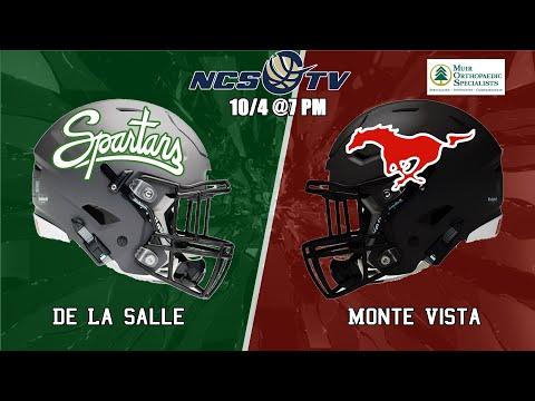 De La Salle Vs Monte Vista High School Football LIVE 10/4/19