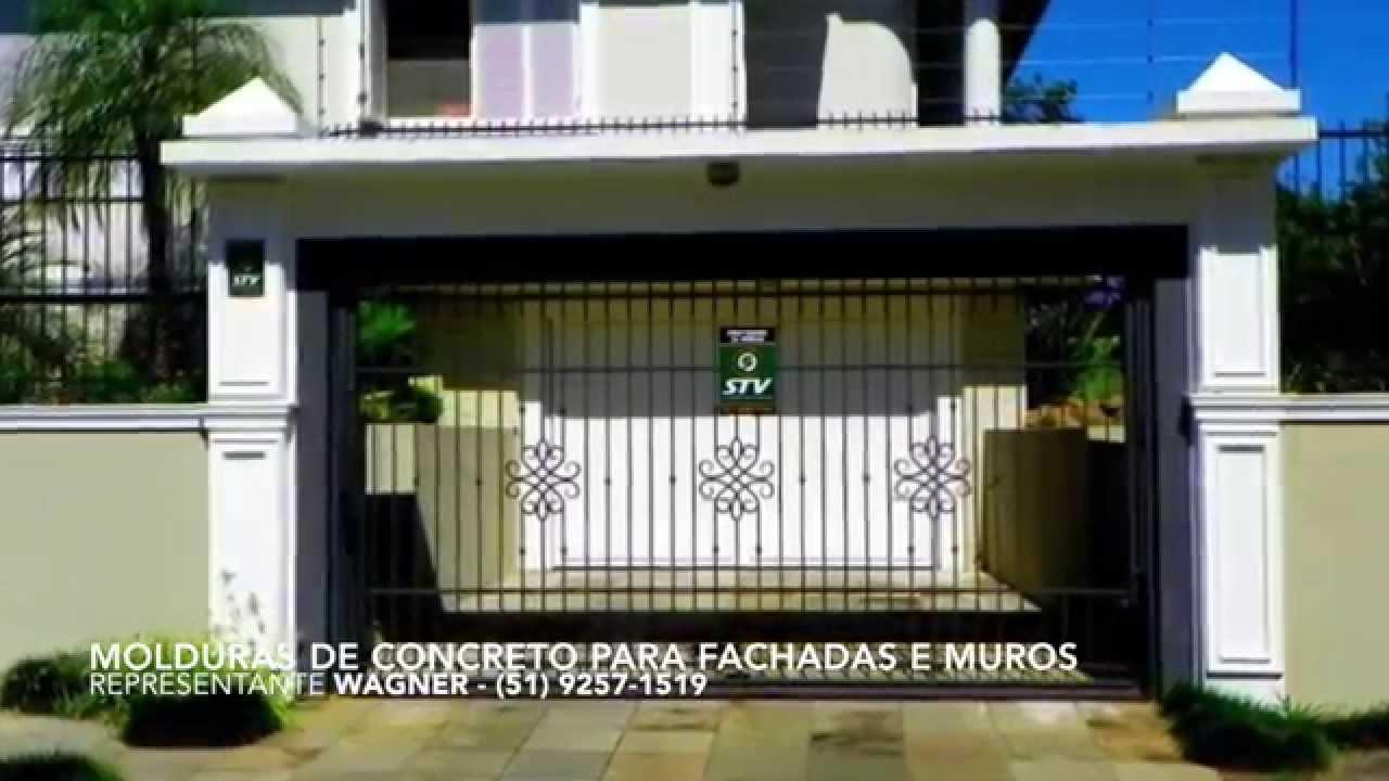 Molduras de concreto youtube - Molduras para fachadas ...