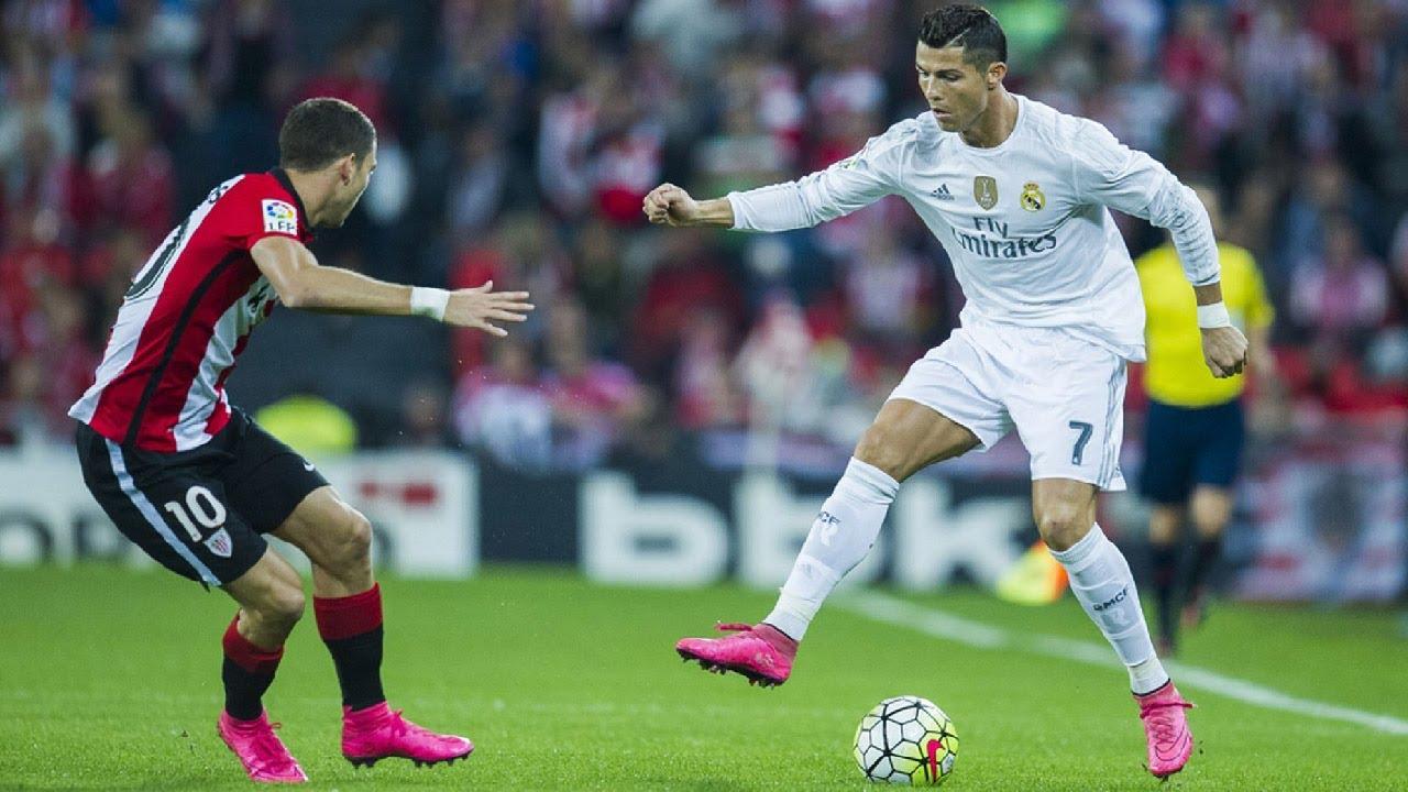 Image result for soccer player dribbling ronaldo