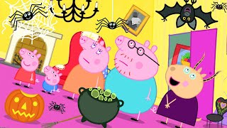 Peppa Pig Official Channel  Madame Gazelle's Spooky House