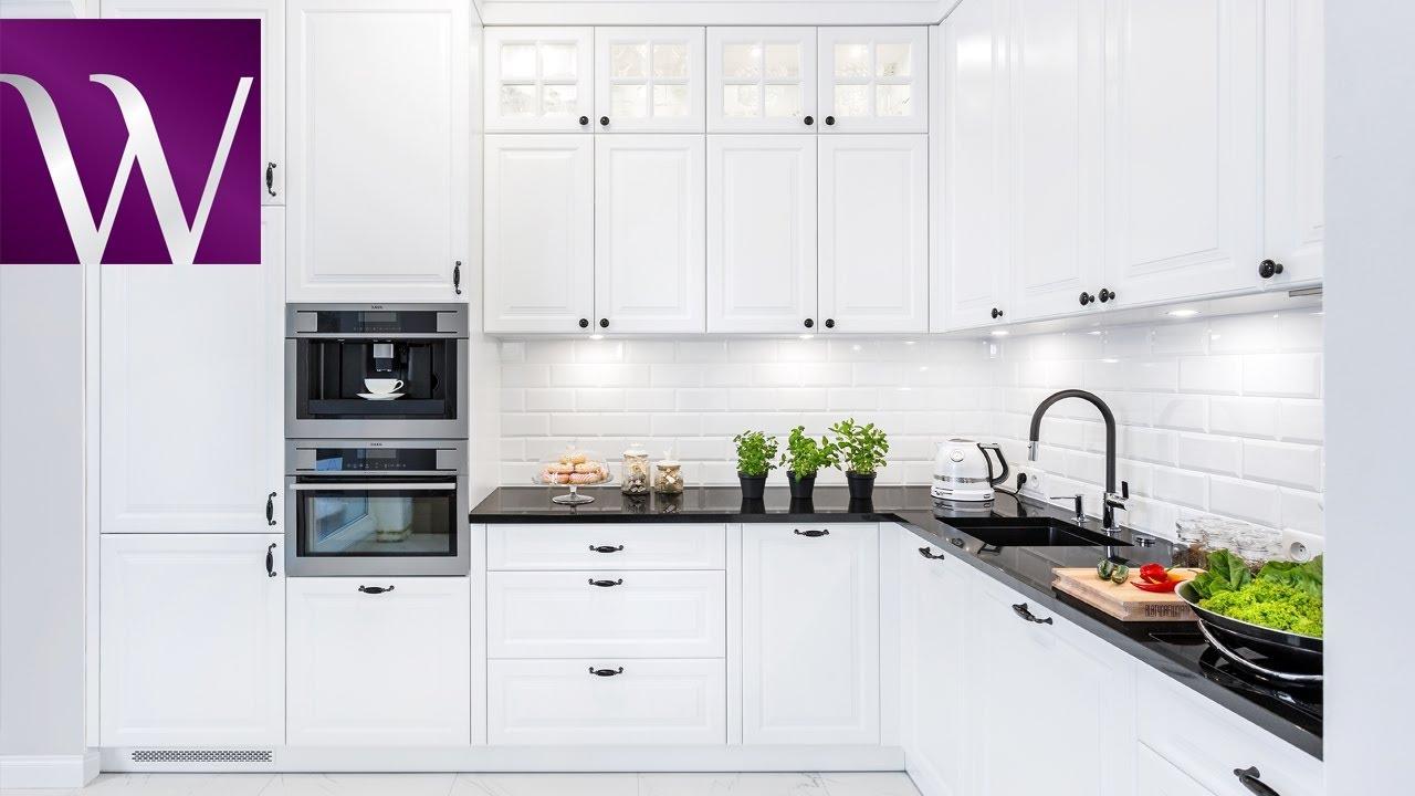 Kuchenne Historie Klasyczna Kuchnia W Bieli Studio Kuchni Meble