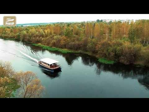 Яхта-катамаран речная (плавдача)