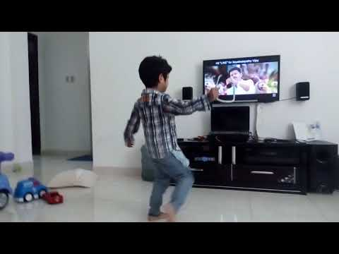 Toddler dancing |Jithu Jilladi | tamil...