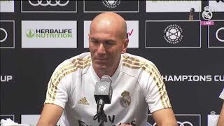 Zidane's pre-Bayern Munich press conference in Houston #RMtour #Real_Madrid