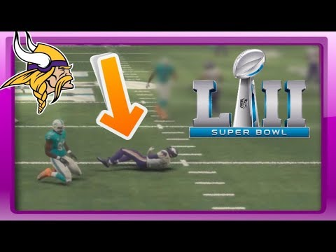 SUPER BOWL! - Madden 18 Vikings Connected Franchise Series Finale