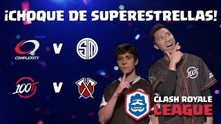 ¡CRL Norteamérica: Complexity vs. Team SoloMid | 100 Thieves vs. Tribe Gaming!