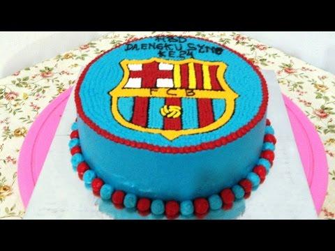 Barcelona Cake How To Make Youtube