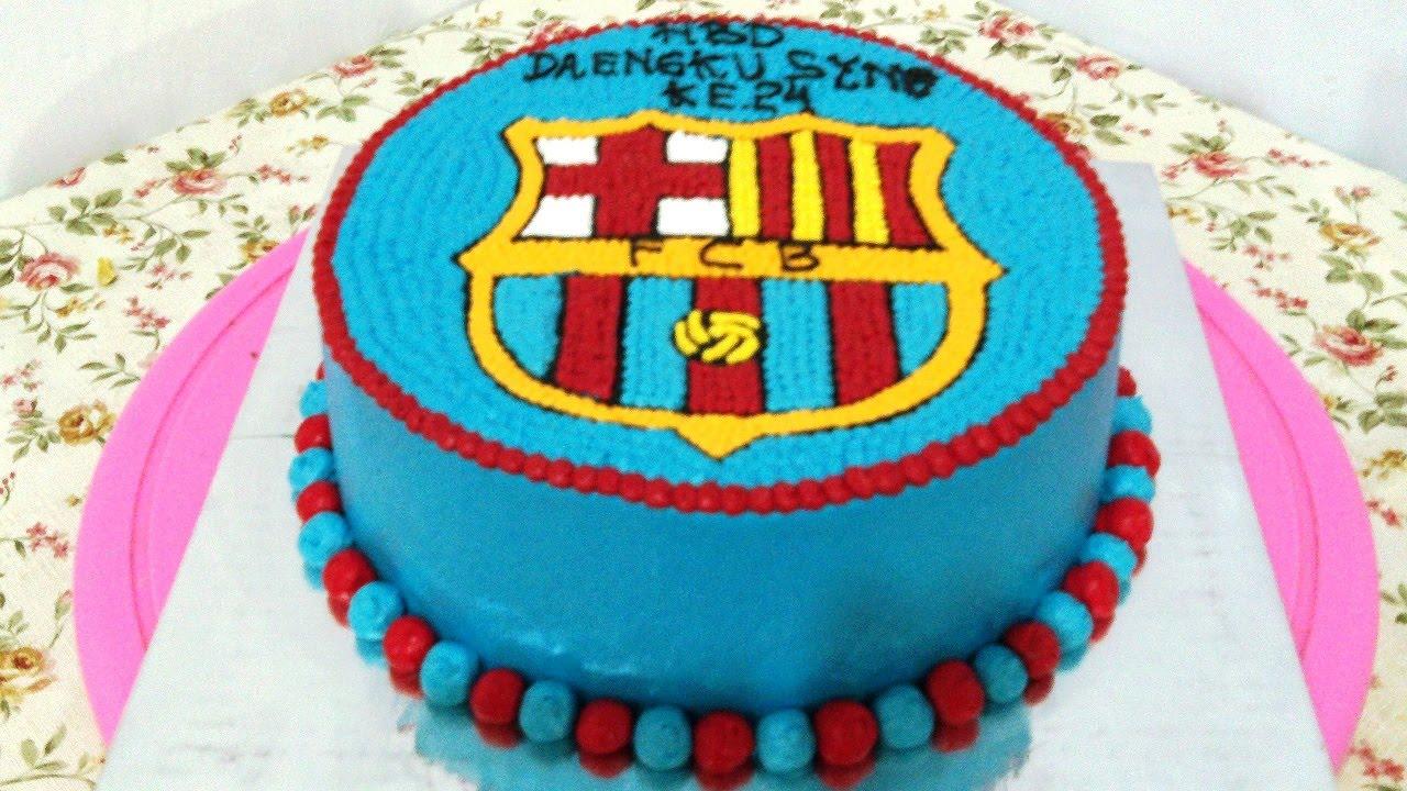 Messi Theme Cake