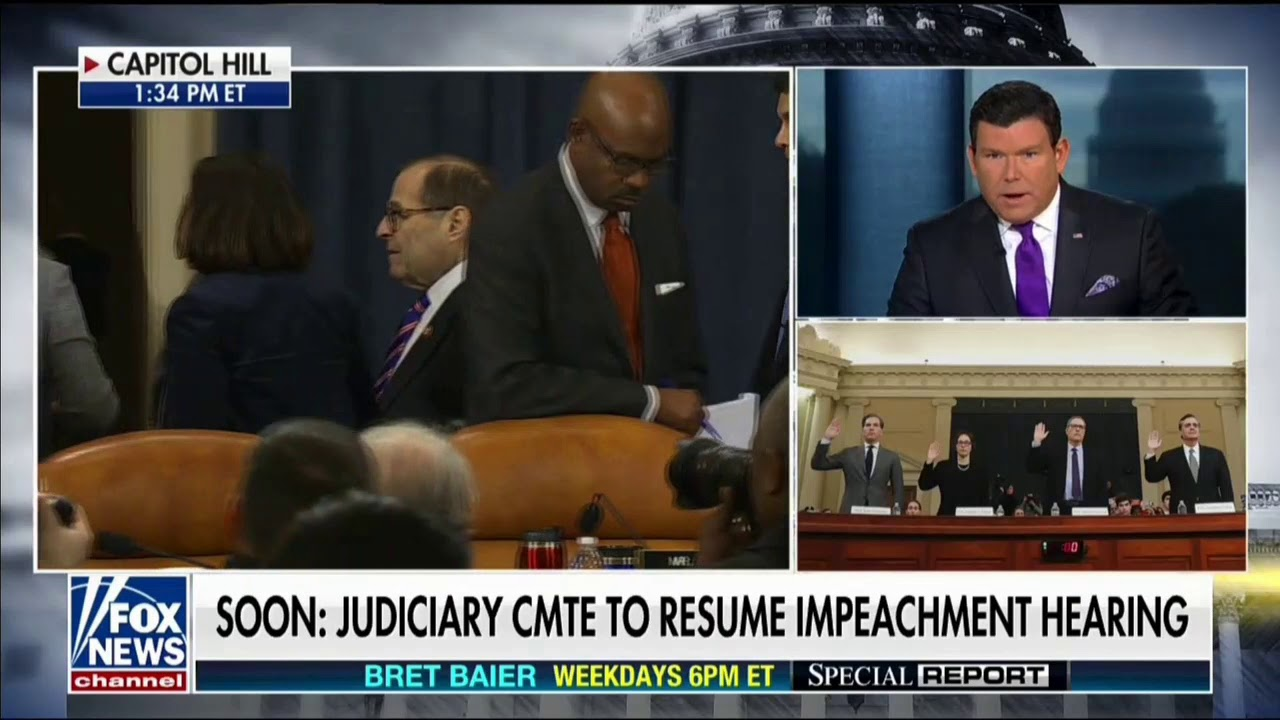 """FNC's Baier: Turley Proved That Dems Would Be Committing """"The High Crime & Misdemeanor"""" - GOP Wa"""