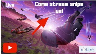 🔴 I GET DUBS! STREAM SNIPE ME; YOU WONT! (FORTNITE BATTLE ROYLE) EPIC IS (Tv_Roro) NAE LIVE