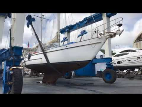 Southern Fox boat - carenage Le Marine