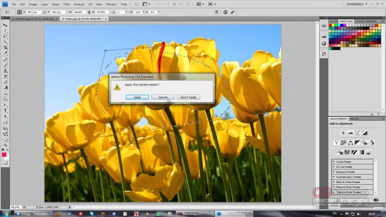 4 урок - Эксперт в Photoshop за 30 дней