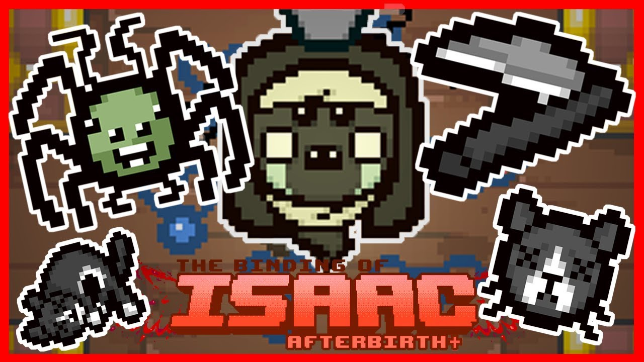 Death's Touch + Mutant Spider - The Binding of Isaac: Afterbirth+