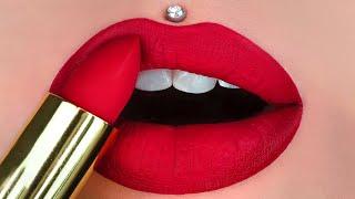 12+ New Lip Art Design Ideas  Awesome Lipstick Compilation 2020  Makeup GRWM