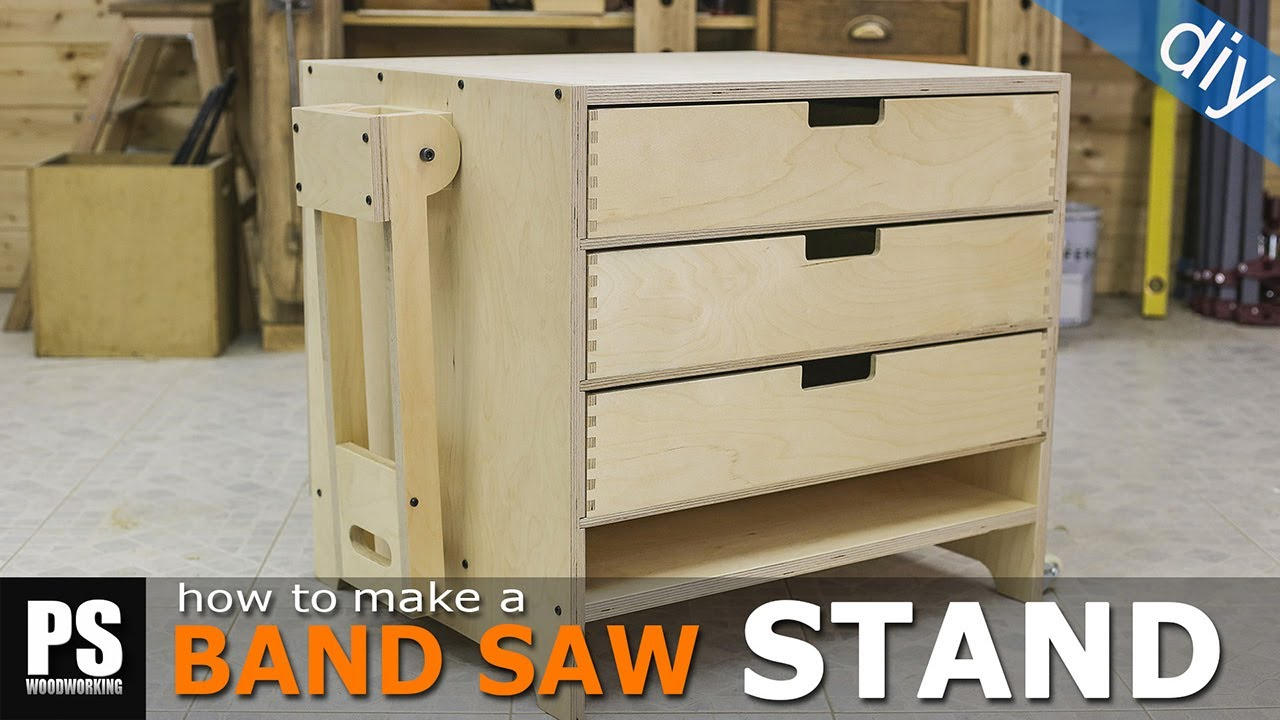 how to make a bandsaw