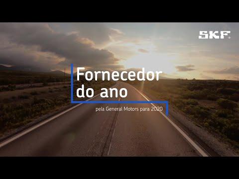 A SKF foi nomeada Fornecedor do Ano da GM pela General Motors para 2020