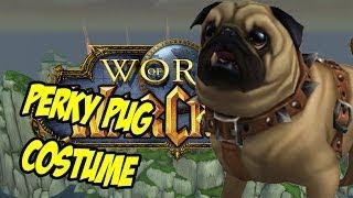 Perky Pug Costumes - Dapper Gentlemen, Dread Pirate & Little Princess - World Of Warcraft