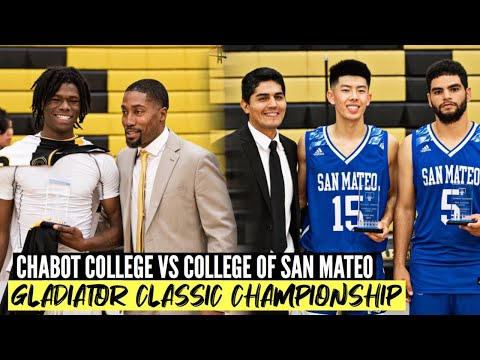 Chabot College vs College of San Mateo | Gladiator Classic Chsmpionship ????????