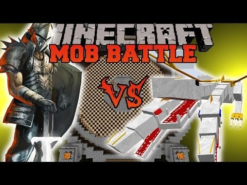 THE KING VS ROYAL GUARD - Minecraft Mod Battle - Mob Battles - OreSpawn Mods