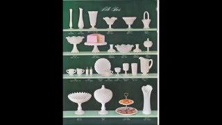 Westmoreland Glass catalog # 75. Milk Glass and colors included!