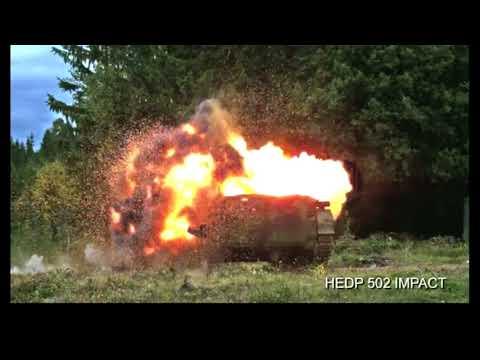 Carl Gustaf tested on BMP-1