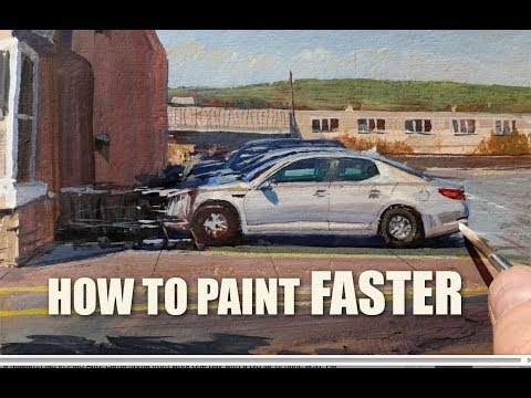 How to Paint FASTER