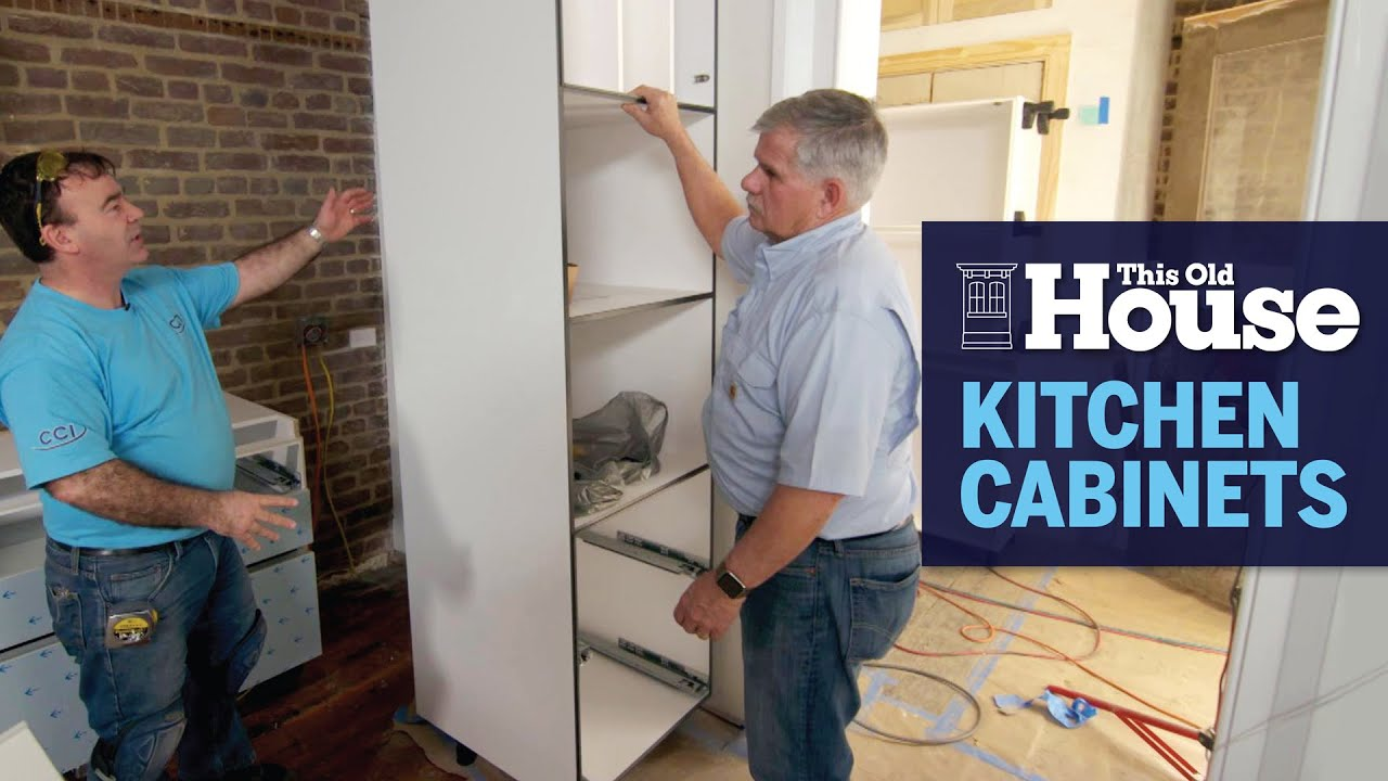 How To Install Kitchen Cabinets This Old House Youtube