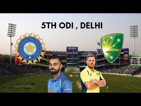 India vs Australia 5th ODI Preview - 13 March 2019 , Delhi || Series Decider