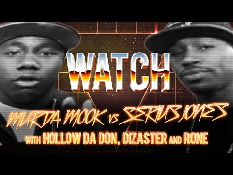 WATCH: MURDA MOOK vs SERIUS JONES with HOLLOW, DIZASTER & RONE