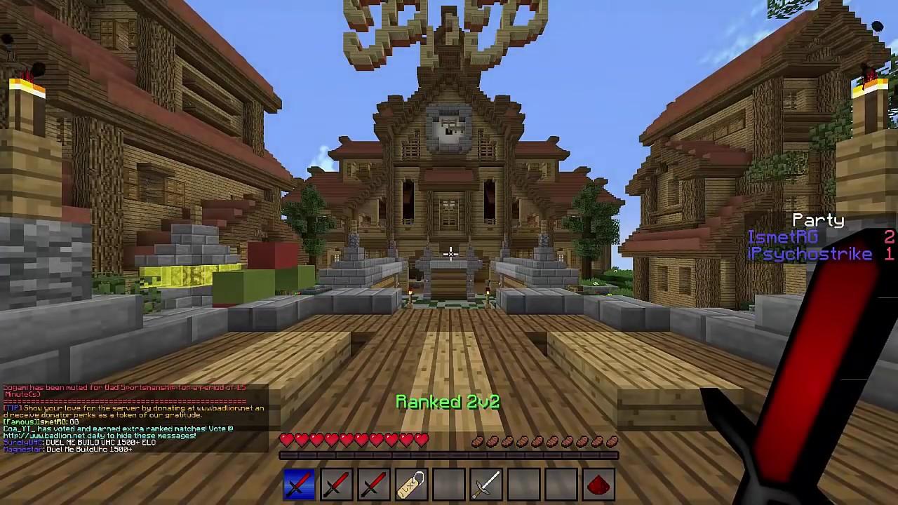 EFSANE GHOSTCLİENT HACKER! (Minecraft : İkiye İki Mücadele #6) w/IsmetRG,Kadir