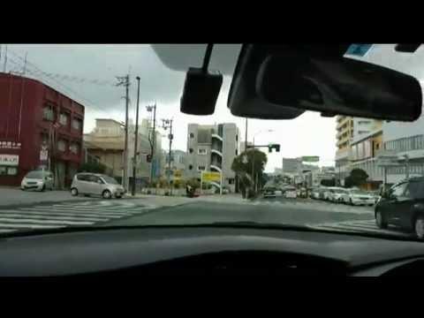 首次日本沖繩自駕-白天直線行駛+左右轉+S彎道+倒車入庫