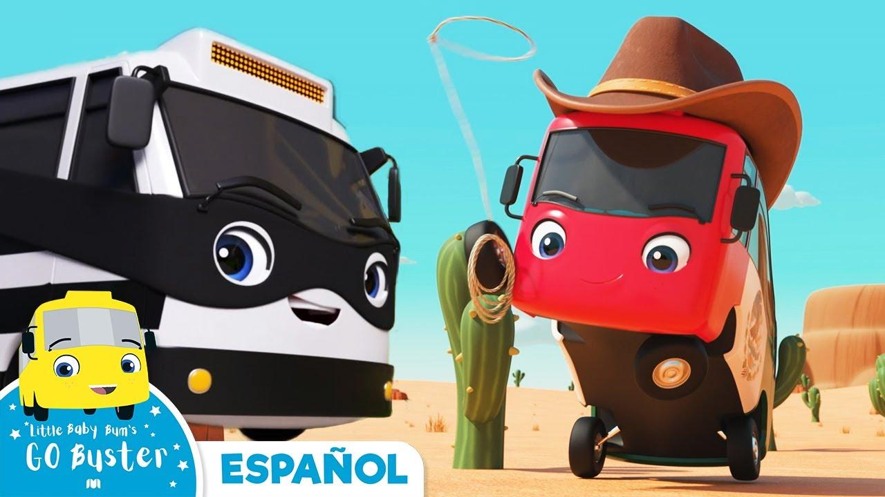 Buster Vaquero | Canciones Infantiles | Dibujos Animados | Little Baby Bum Latino