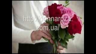 Доставка цветов Киев. Как мы делаем букет из роз?(, 2013-08-23T12:58:17.000Z)