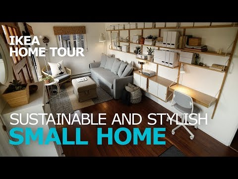 Small, Multi-Purpose Living Room Ideas  - IKEA Home Tour (Episode 314)