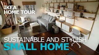 Small, Multi Purpose Living Room Ideas   Ikea Home Tour (episode 314)