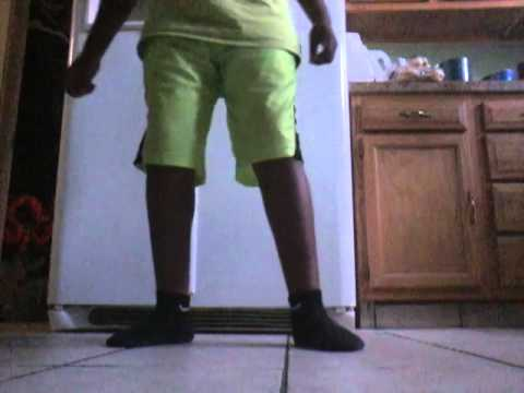 Elijah doing the dlow shuffle dance
