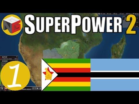 Superpower 2 - Zimbabwe & Botswana - Ep 1 - Jump-Start The Economy!!!
