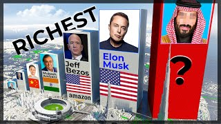 TOP Richest Person Comparison (wealthiest people on the planet comparison)💲💲💲